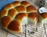 Roti Sobek Bunga Telang langkah memasak 20 foto