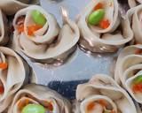 Rose Shu Mai (Dimsum Cina) 燒賣 點心 langkah resep 10 foto
