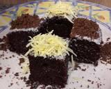 Eggless Chocolate Cake (no mixer)#Seninsemangat#Cookpadcommunity langkah memasak 8 foto