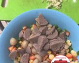 Tumis capcay kacang polong jamur jagung baso #homemadebylita langkah memasak 1 foto