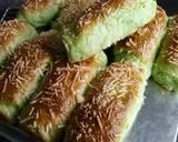 Cheese Pandan Potato Bread langkah memasak 20 foto