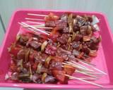 Sate Sapi Barbeque langkah memasak 2 foto