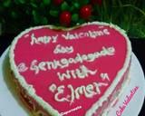 Puding cake valentine langkah memasak 3 foto