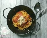 Spaghetti langkah memasak 9 foto