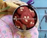Red Velvet Cookies #day13 langkah memasak 5 foto