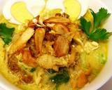 Soto Medan Simple ketofy #ketopad_cp_anekasoto langkah memasak 5 foto
