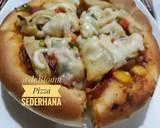 273. Pizza Sederhana langkah memasak 12 foto