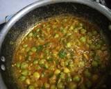 Hare chhole subji recipe step 2 photo