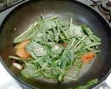 Kangkung tumis tomat + tips kangkung tampil segar langkah memasak 3 foto