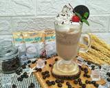 Luwak White Koffie Frappuccino langkah memasak 3 foto