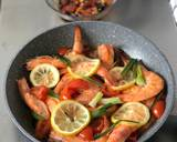 Steam shrimp lemon langkah memasak 4 foto