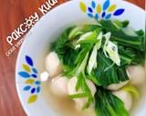 Pakcoy Kuah langkah memasak 3 foto