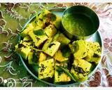 गुजराती खमन ढोकला (gujrathi dhokla recipe in hindi) रेसिपी चरण 5 फोटो