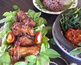 Ayam panggang bumbu bacem langkah memasak 5 foto