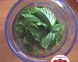 (Detox) Jus Mint Lemon Chia Madu segar #homemadebylita langkah memasak 1 foto