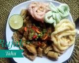 Rujak Tahu langkah memasak 4 foto