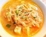 Sundubu Jjigae ~ Sup Tahu Pedas Korea langkah memasak 6 foto