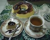 Blueberry cheesecake kukus langkah memasak 3 foto