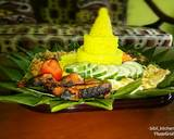 Nasi kuning magic comp langkah memasak 4 foto