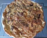 Torta salata - pancetta, mushroom and pecorino pie recipe step 4 photo
