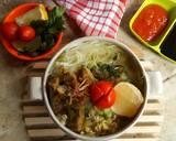 Soto Sapi Bening Ala Ibuk langkah memasak 5 foto