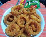 Onion Ring Crispy langkah memasak 6 foto