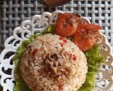 Nasi Goreng Pedas Abon langkah memasak 3 foto