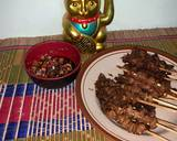 Sate kulit ayam yakitori langkah memasak 5 foto