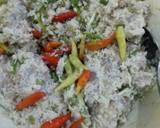 Bothok/Pepes Ayam langkah memasak 4 foto