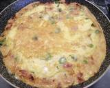 Scamorza, pancetta and asparagus frittata, with crispy potatoes recipe step 4 photo