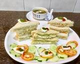 Bombay Veg Paneer Sandwich With Spinach Soup recipe step 10 photo
