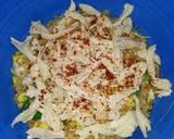 Bubur ayam oatmeal (cocok untuk diet) langkah memasak 5 foto