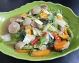 Tumis Sayuran Campur Bakso ala Nana Hanif langkah memasak 4 foto
