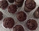 Muffin Coklat langkah memasak 7 foto