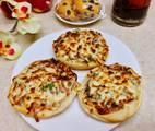 Hình ảnh bước 3 Bánh Mì Nướng Muối Tôm Cho Bữa Sáng Yum Yum ? / Air Fryer