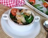 Sup brokoli langkah memasak 8 foto