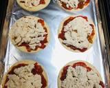 Mini Shredded Salsa Chicken Tortilla Pizzas recipe step 4 photo