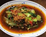 Cah Pokcoy Kuah Teri langkah memasak 6 foto