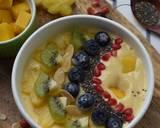 Go Mango Smoothie Bowl langkah memasak 5 foto