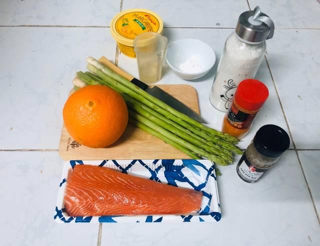 Cách chế biến cá hồi sốt cam bổ dưỡng cho mẹ bầu - ảnh 1