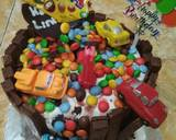Gravity Cake langkah memasak 12 foto