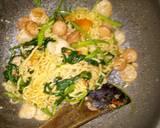 Mie Goreng Kangkung Belacan langkah memasak 5 foto