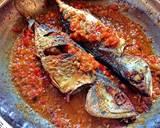 Ikan kembung goreng sambal asam langkah memasak 10 foto