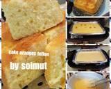Cake jeruk teflon langkah memasak 5 foto