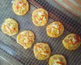 Pizza Mini EMPUK Proofing 1 Kali No Ulen No Telur langkah memasak 20 foto