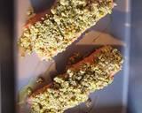 Salmon pistacchio