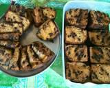 Banana Choco Chips Cake -mudah, tanpa mixer- langkah memasak 6 foto