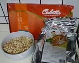 23. Coklat Kacang Corn flakes langkah memasak 1 foto