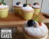 Hokkaido Chiffon Cupcakes #pr_anekachiffon langkah memasak 17 foto