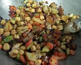 Healthy kabuli chana salad recipe step 9 photo